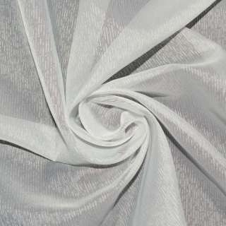 Креп гардинный штрихи, молочный, ш.300