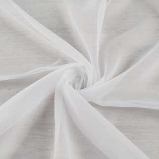 Вуаль белая, с утяжелителем, ш.180