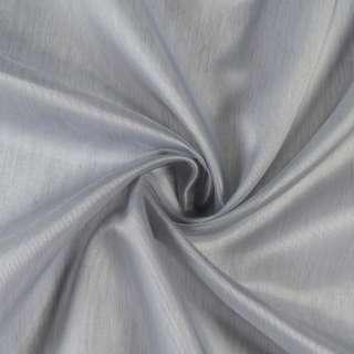 Кристаллон тюль серый с утяжелителем, ш.300