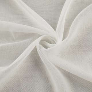 Лен гардинный белый с утяжелителем, ш.260