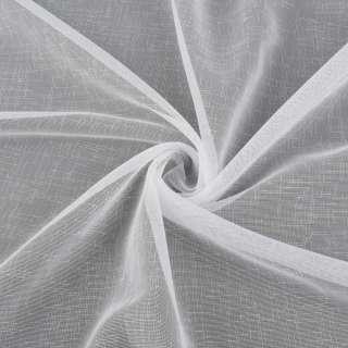 Лен гардинный белый с утяжелителем, ш.300