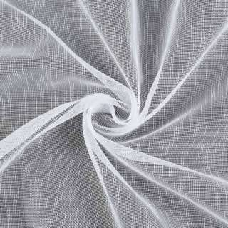 Лен сетчатый белый, с утяжелителем, ш.300