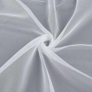 Сетка тюль белая с утяжелителем, ш.180