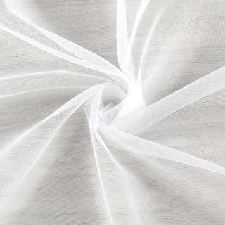 Микросетка тюль белая с утяжелителем, ш.260