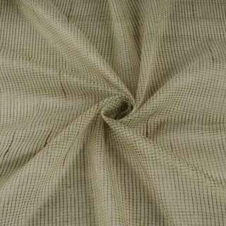 Микросетка тюль полоски ниточные серые, салатовая сетлая с утяжелителем, ш.300