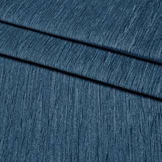 Шенилл портьерный синий темный, ш.300