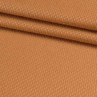Рогожка вискозная интерьерная оранжево-терракотовая ш.140