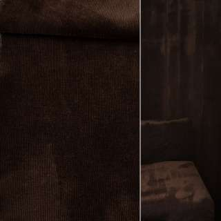 Велюр вискозный мебельный темно-коричневый ш.140