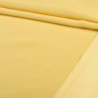Ультра портьерная желтая в структурные штрихи, ш.150