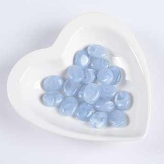 Бусина акрил мрамор голубая 15х20мм (цена за 1г)