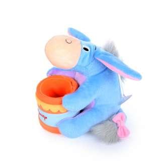 Мягкая игрушка подставка стаканчик 7,5х6,5х6,5 см Ослик Иа-Иа 14 см на присоске