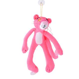 Мягкая игрушка на присосках 22 см Розовая пантера