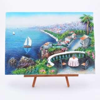 картина пластик Морской пейзаж, 24х33