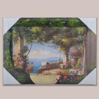 Картина Картина на мольберте у моря, 34 х 47см