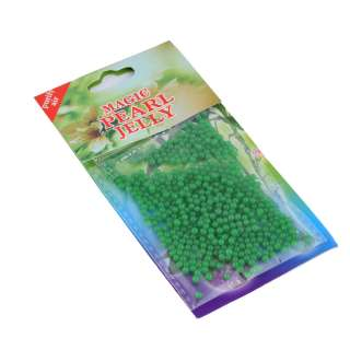 гелевые шарики для дизайна зеленые