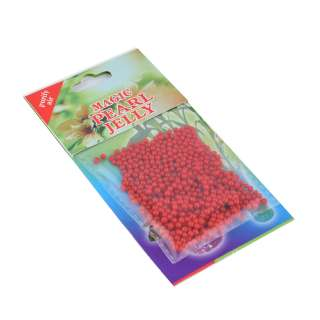 гелевые шарики для дизайна красные