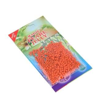 гелевые шарики для дизайна оранжевые