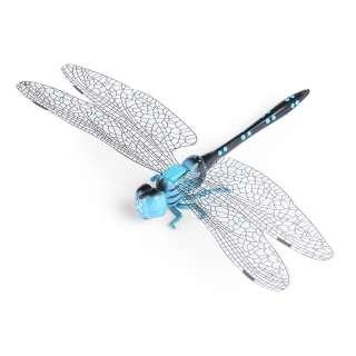 Магнит декоративный Стрекозы 13х9 см голубо-черная