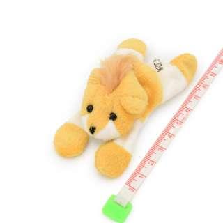 Магнит декоративный мягкая игрушка 9х5х3 см львенок бежевый