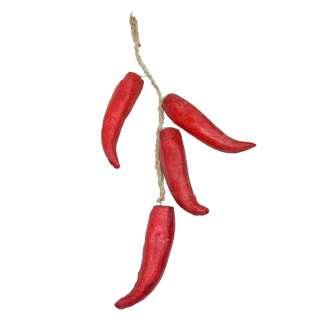 связка крупного красного перца декоративного