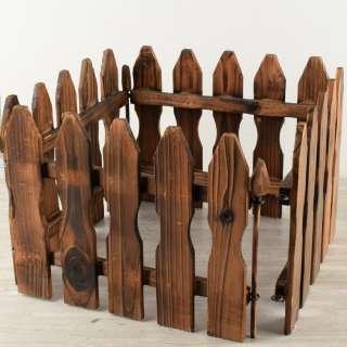 забор 30 см деревянный