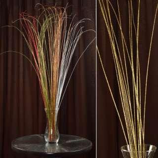 ветка декоративная с золотыми блестками (1упаковка)