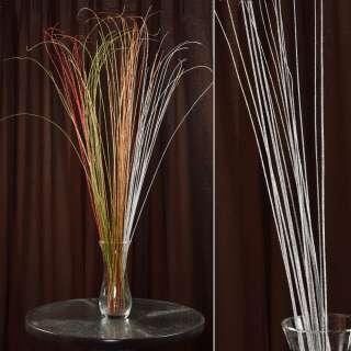 ветка декоративная с серебряными блестками (1упаковка)