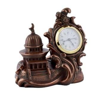 часы настольные Китайский стиль латунные, 12см