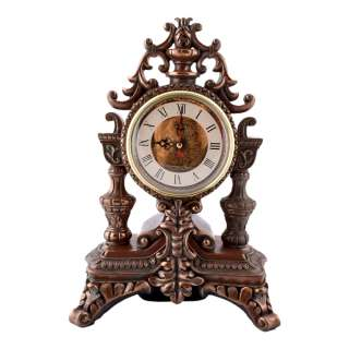 часы настольные Подсвечник латунные, 30см