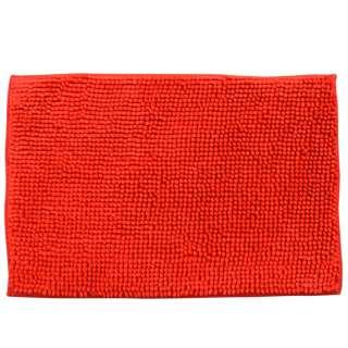Коврик для ванной микрофибра прорезиненная основа 40х60 см красный
