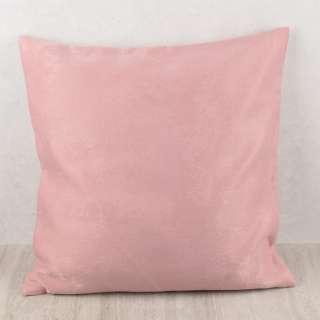 Наволочка 45х45 см софт розовая