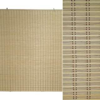 Ролеты из бамбуковой соломки debel 180х200 см натуральные