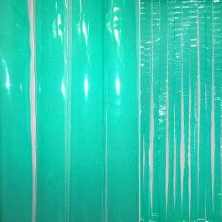 Дверная шторка силиконовая 0,2мм 90х198 см зеленая