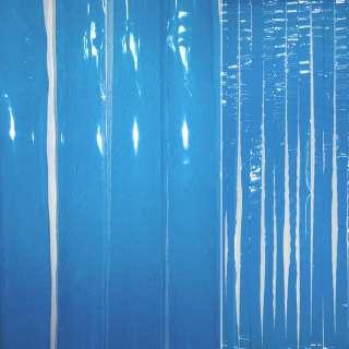Дверная шторка силиконовая 0,2мм 90х198 см синяя