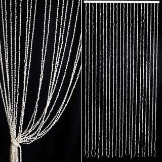 Дверная декоративная шторка Ракушки 80х175 см