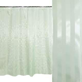 штора д/ванной комнаты светло-бирюзовая, 178х183