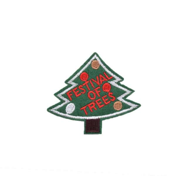 Термоаппликация Елка  FESTIVAL OF TREES 60х60мм