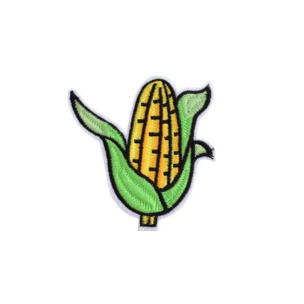 Термоаппликация Кукуруза 70х80мм