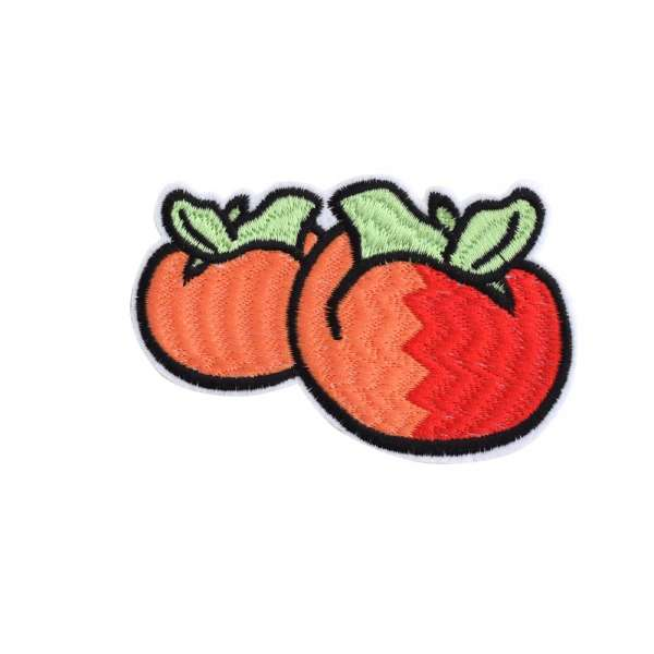 Термоаппликация Помидоры 100х70мм оранжевые