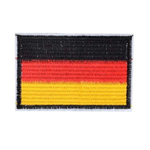 Термоаппликация Флаг Германии 80х50мм