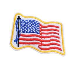 Термоаппликация Флаг США 100х60мм