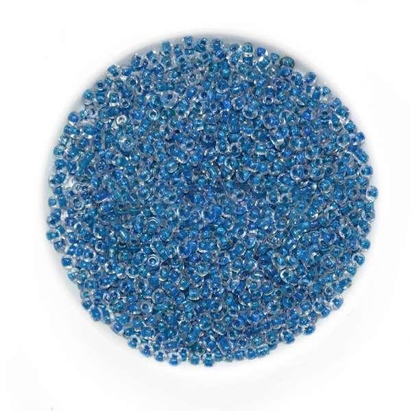 Бисер синий