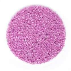 Бисер ярко-розовый