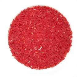 Бисер красный