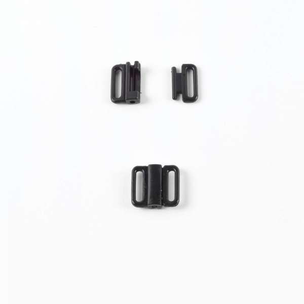 Застежка пластик, черная (12мм) 1шт