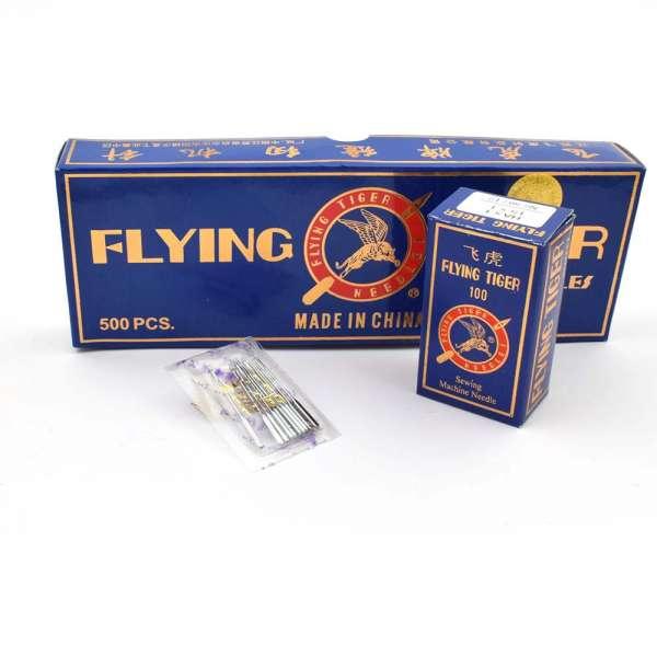 Иглы для швейных бытовых машин №80 Flying Tiger HA*1 набор 10 игл