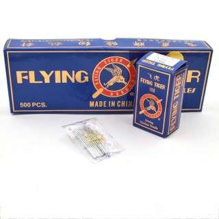 Иглы для швейных бытовых машин №90 Flying Tiger HA*1 набор 10 игл