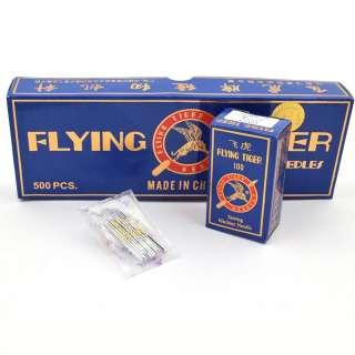 Иглы для швейных бытовых машин №100 Flying Tiger HA*1 набор 10 игл