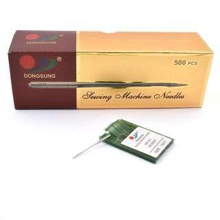Иглы для швейных бытовых машин №75 DS HA * 1 SY 2 031 Dongsung набор 10 игл