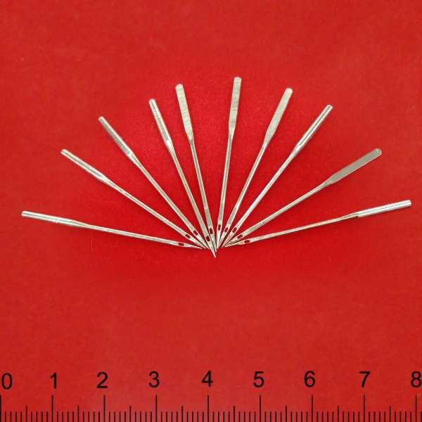 Иглы для швейных бытовых машин №100 набор 10 игл